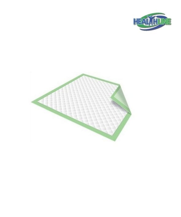 Healthline Green Disposable Underpads 23″x36″ 50/pack