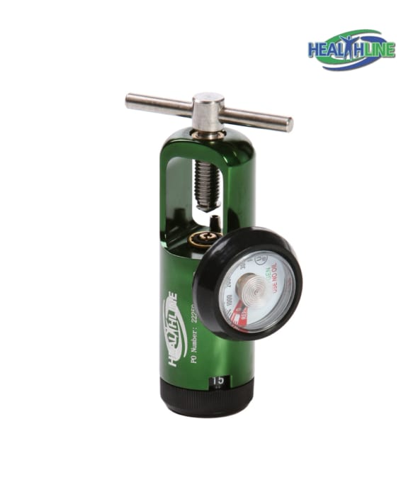 Oxygen Tank Regulator 0-8 LPM Adult