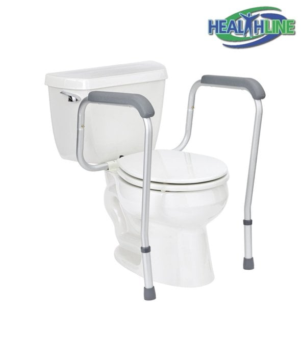 Toilet Safety Frame with Adjustable Legs