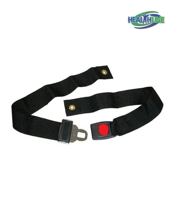 Wheelchair Strap Seat Belt Auto Style w/ Metal Buckle