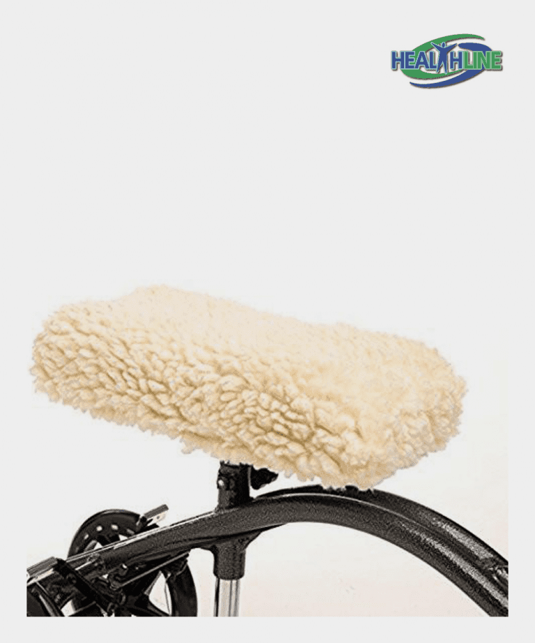 Universal Knee Walker Pad Cover Synthetic Sheepskin Pad