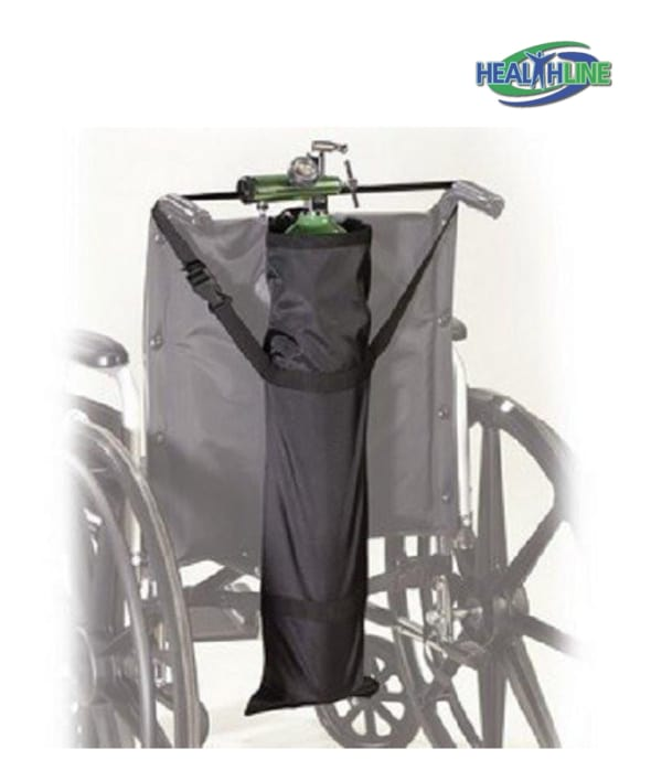 Oxygen Wheelchair Bag / Oxygen Tank Holder for D and E Size