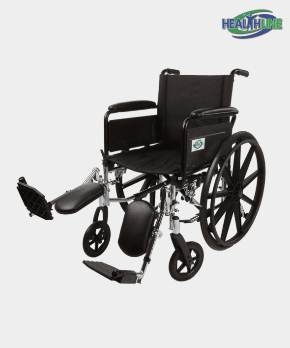 Lightweight Wheelchair W/Desk Arm Padded & ELR K3