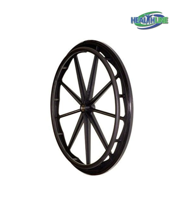Flat Free Rear Wheel for 16″-18″-20″ Wheelchair