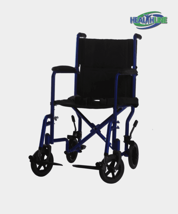 Transport Wheelchairs W/SLR 17″ OR 19″