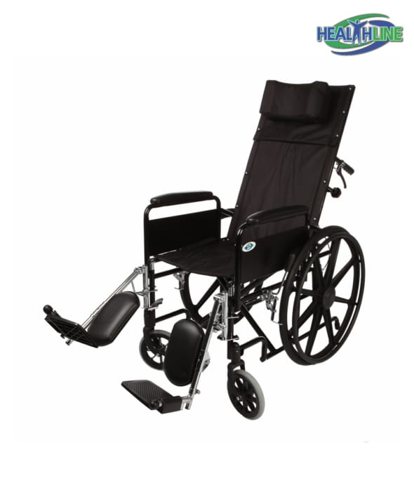 Recliner Full Arm Detachable Padded Flip Back with ELR