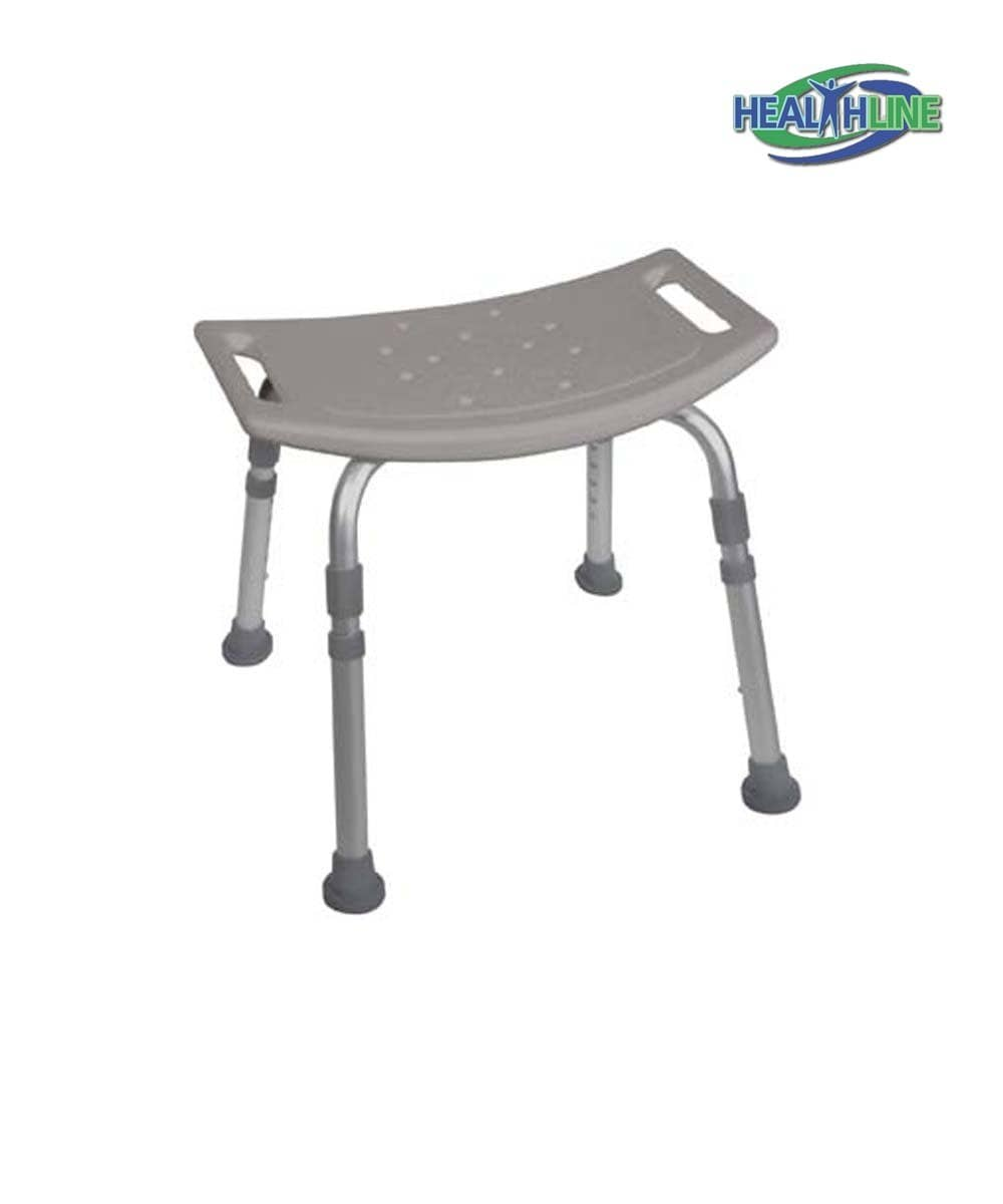 Bath Bench Without Back - Bath Aids for Elderly | Healthline Trading