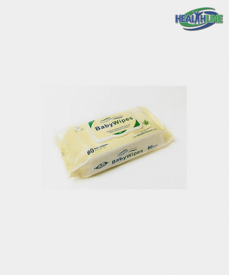 Baby Wipes Soft-pack Flip-top, with Aloe 80/pack