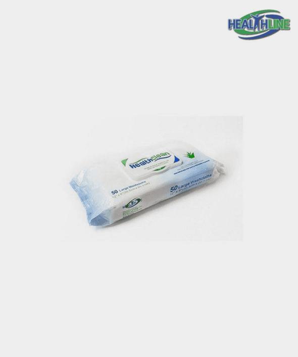 Healthclean Premoist 50 Per Pack Adult Washcloths Size 8″x12″