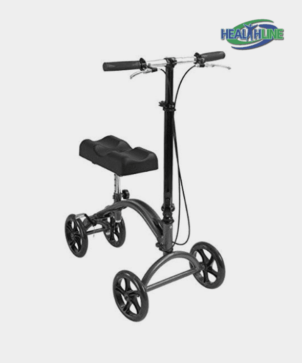 Knee Walker Scooter Steerable W/handle Brake and Basket