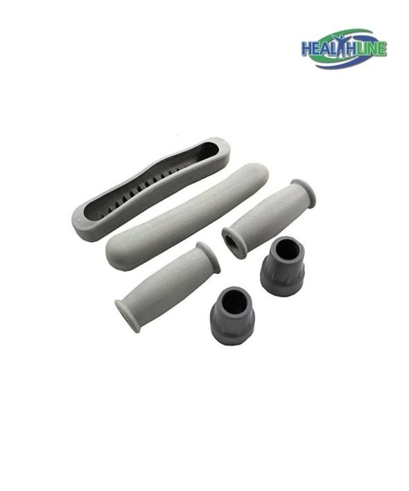 Crutch Replacement Part Kit, Gray