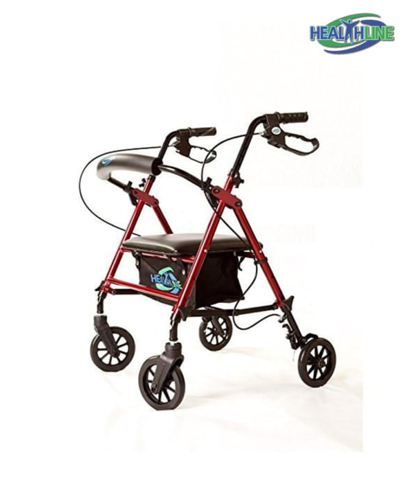 Super Lightweight Rollator W/Aluminum Loop Break