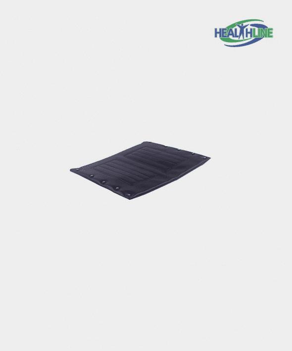 Wheelchair Seat Upholstery Vinyl, Black (16 x 16)