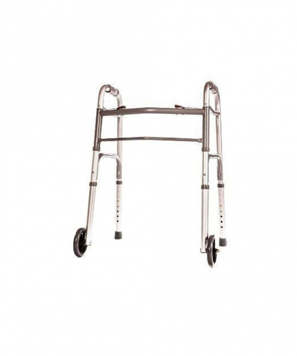Folding Walker Junior Deluxe 2 Button