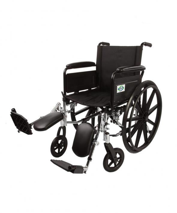Lightweight Wheelchair with legrests K3