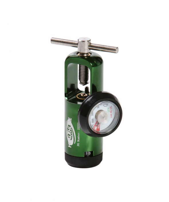 Oxygen Tank Regulator 0-15 LPM Adult