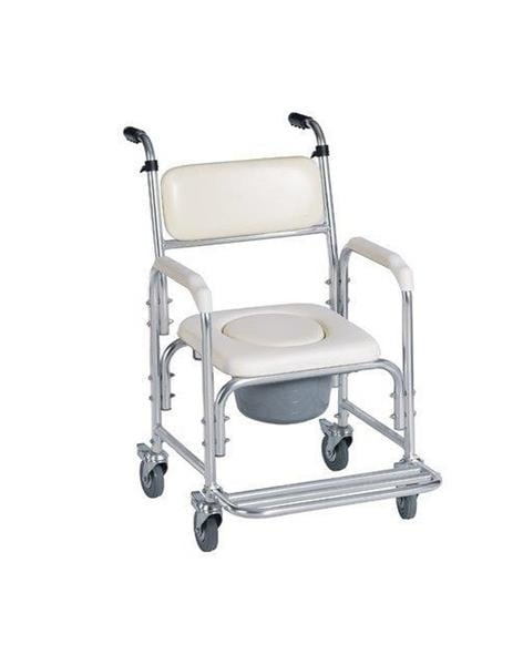 Tired of Sponge Baths? Consider a Shower Commode Chair with Wheels