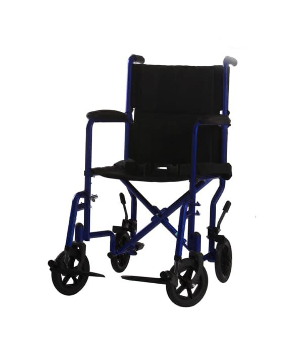 Transport Wheelchairs W/SLR 17″ OR 19