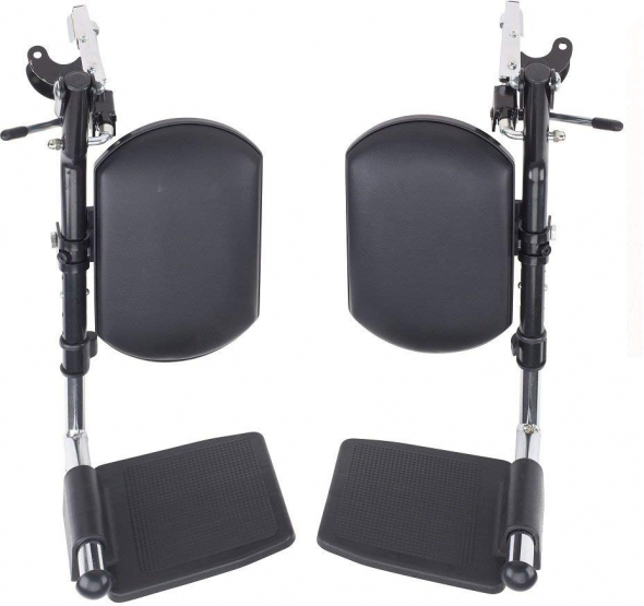 Wheelchair Legrests Elevated Footrest, Universal Wheelchair Elevating Leg Rest, Invacare Wheelchair Parts, Drive Wheelchair Accessories, Healthline Foot Rest, Padded Footplate Wheelchair Leg Support