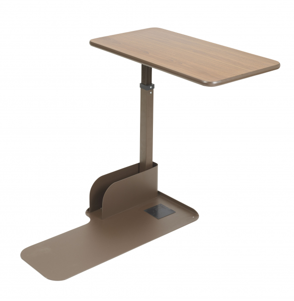 Drive Medical Overbed Table for Seat Lift Chair, Left Side Table